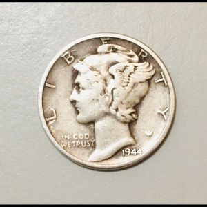 Incredibly Rare 1944 Mercury Dime!